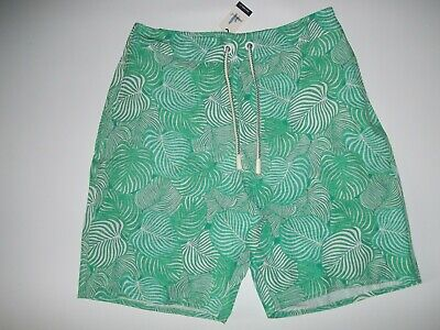 johnnie-O Highlighter SAHA Swimsuit SURF Board Shorts w/Liner Mens Sz LARGE NEW