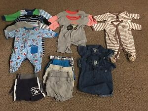 0-3 months baby boys clothes