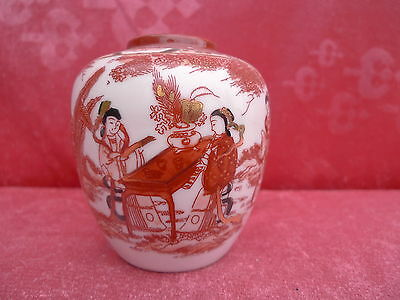 Beautiful, Old Decorative __ Japan Painted_