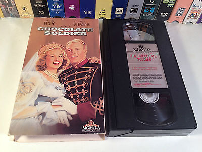 The Chocolate Soldier Rare Musical Comedy VHS 1941 OOP Nelson Eddy Rise Stevens