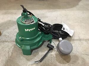 Myers Sump or Effluent Pump