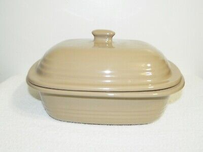 Pampered Chef Tan Deep Oven Roasted Dutch Oven Roaster 3.1 Qt / 3L  # 1113 Deep Dutch Oven