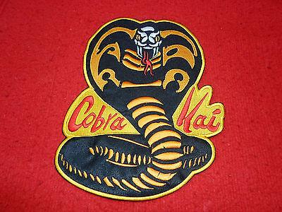 Karate Kid Cobra Kai Logo Embroidered Big Patch  for Back Miyagi 9,6