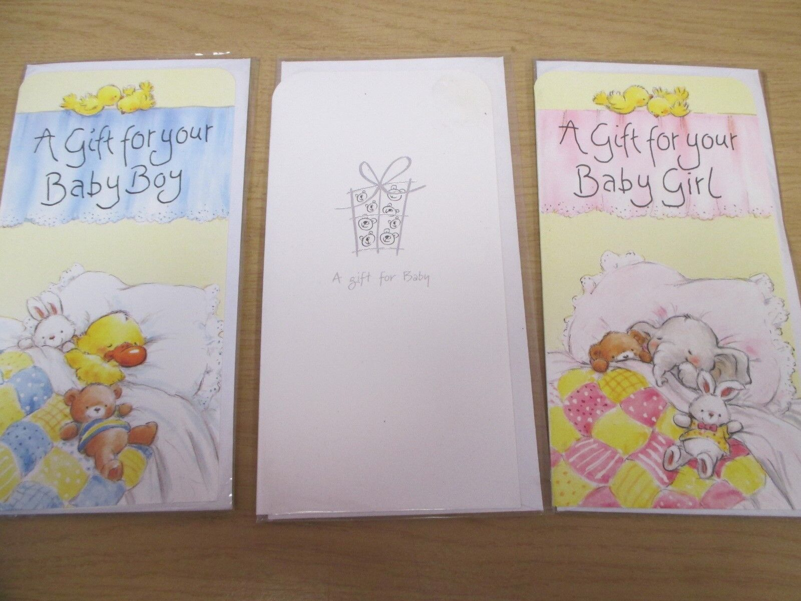 NEW 'A Gift for Your Baby Girl / Boy' - Money Gift Card Wall
