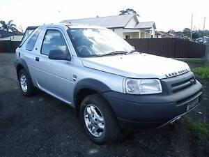 2004 Land Rover Freelander, LOW KMS, REGO,  SUMMER CAR Guildford Parramatta Area Preview