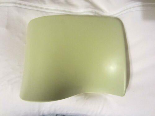 Gien Eole Ilto Curved Vase Off-White & Gray France Porcelain RARE NR