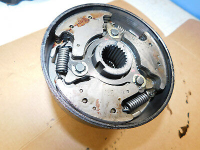 yamaha tri moto 225 ytm225 centrifugal clutch shoes carrier yfm225 ytm200 1985
