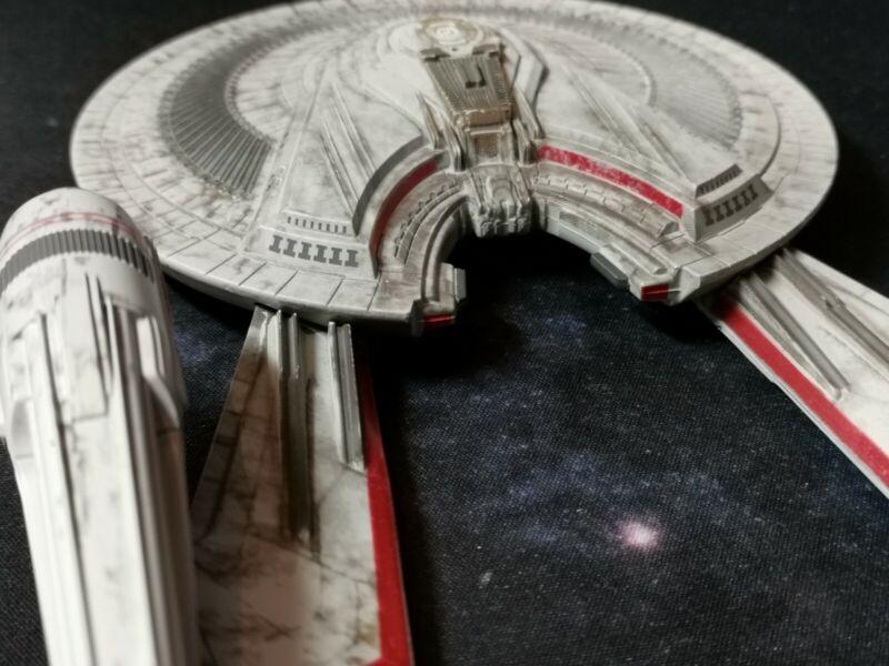 NO MODEL USS FRANKLIN NX-326 CUSTOM DECALS Star Trek Starships EAGLEMOSS