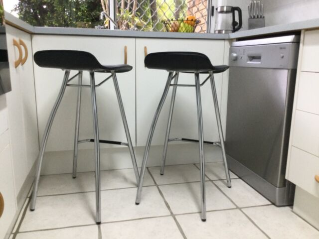 pair of freedom furniture bar stools  90 the pair