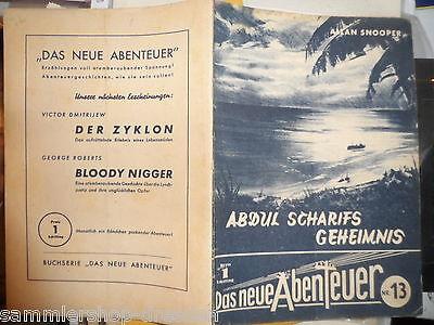19389 Das Neue abenteuer Ö Nr. 13 Snooper Abdul Scharifs Geheimnis