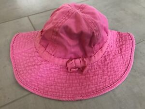 Toddler girl sun hat. Size Medium