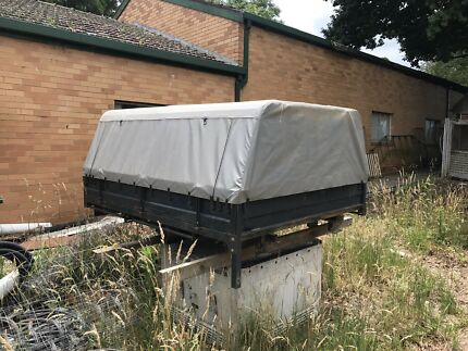 GQ/GU NISSAN PATROL STEEL UTE TRAY CANVAS CANOPY Healesville Yarra Ranges Preview