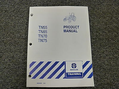 New Holland Tn55 Tn65 Tn70 Tn75 Utility Tractor Product Specifications Manual