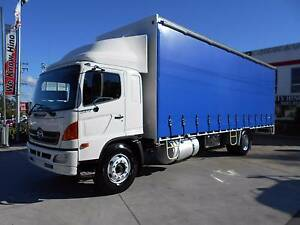 2007 Hino GH Ranger Pro 4x2 14 Pallet Curtainsider Old Guildford Fairfield Area Preview