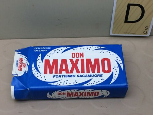 Vintage DON MAXIMO Laundry Bar Soap Detergent