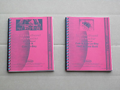 Jensales Service And Parts Manual For Ih International Cub Lo-boy Farmall