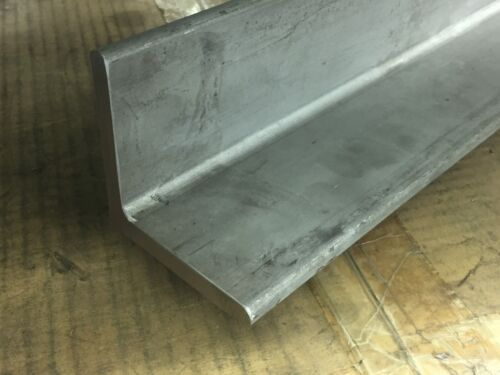 """2.5"""" x 2.5"""" x 27"""" Long x 1/4"""" Wall 304 Stainless Steel Angle Marks"""