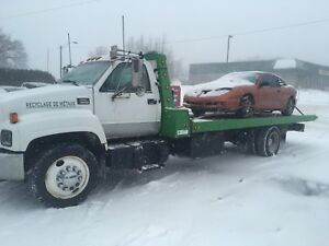Towing, remorquage, transport auto, débarrasse carcasse pr fer