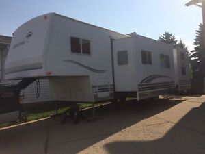 2007 Okanagan Eclipse Fifth Wheel Bunk Model w/ 2 Slides
