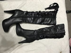 Knee high boots size 8