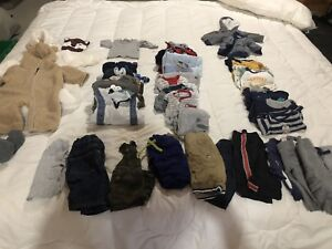 NB-3 month Boys Winter Clothing Lot