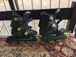 New rolling skates