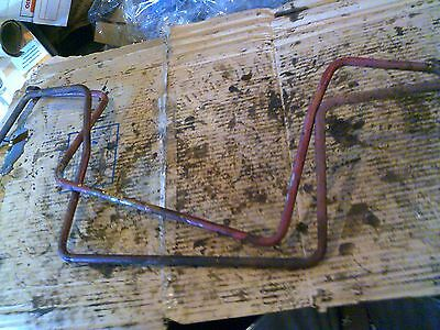 International Farmall 504 Utility Tractor Orignal Ih Oil Cooler Lines Line 504 U