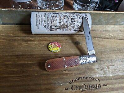 Great Eastern Cutlery #15 TC Tom Sawyer Ancient Barlow Muscadine Sawcut Bone
