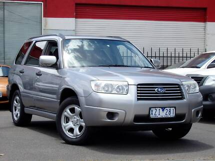 2007 Subaru Forester X LUXURY *** MANUAL ***  $7,990 DRIVE AWAY Footscray Maribyrnong Area Preview