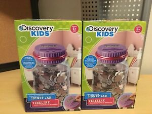 New and unopened Discovery money jar piggy bank