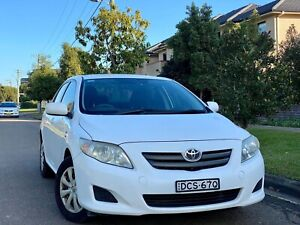 2007 Toyota Corolla Ascent VVT-I 4 Speed Automatic Sedan Low Kms Log Books 4months Rego