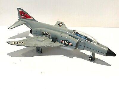 ✈️DINKY TOYS No.730 US F-4K Navy Phantom II FIGHTER BOMBER JET w/ Missile Firing