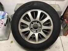 4x  continental tyres and 1x spare McCrae Mornington Peninsula Preview