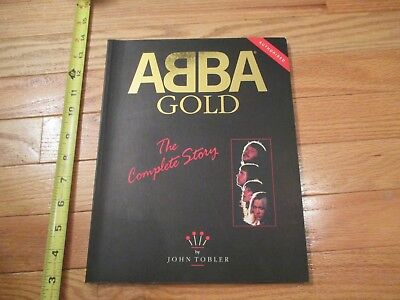 ABBA Gold the Complete Story Music band by John Tobler Book