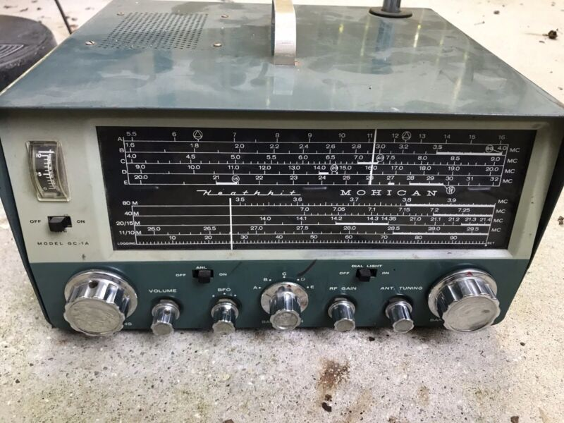 Heathkit GC-1A Mohican General Coverage Ham Receiver