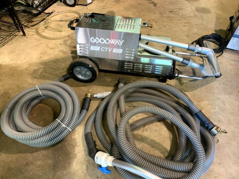 Goodway CTV-1500 Cooling Tower Vacuum Cleaning System Commercial Power Washer