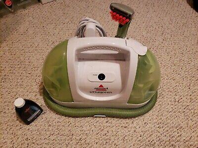 USED Bissell Little Green Spot Deep Carpet Cleaner, Model 1400T  (Bissell Little Green Deep Cleaner)
