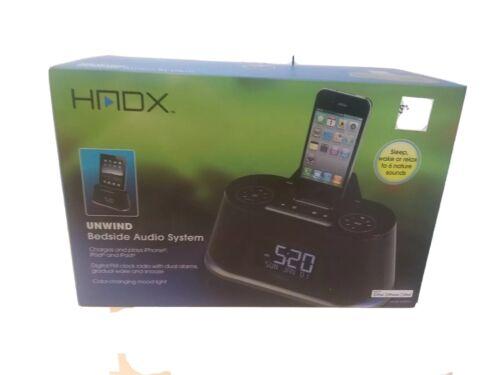 HMDX Audio HX-B322A Unwind Bedside Alarm with nature songs IPAD IPOD IPHONE