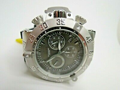 Invicta Men's Subaqua Noma III 1382 Watch Chronograph Gray Black