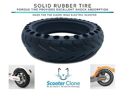 *US SELLER* Solid Rubber Tire For BIRD or Xiaomi M365  Electric Scooter x1