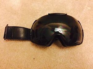 LEVEL FOUR Black Ski Goggles
