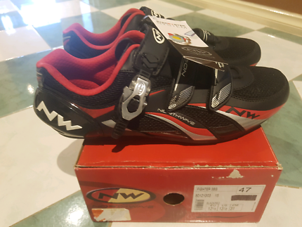 Road bike cycling shoes size 47