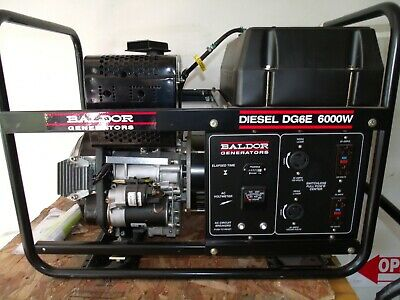Baldor Diesel Generator 6000 W