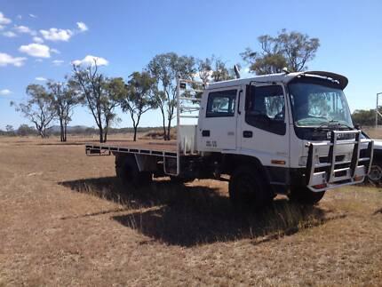 Isuzu FSS550 4x4 Tray Top Truck Rockhampton 4700 Rockhampton City Preview
