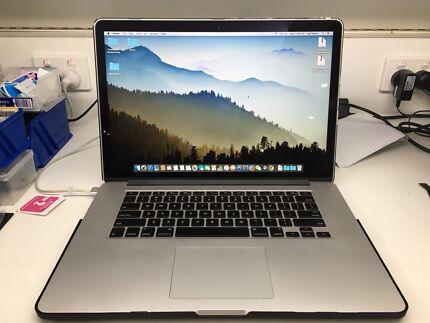 """15.4"""" MacBook pro retina i7"""