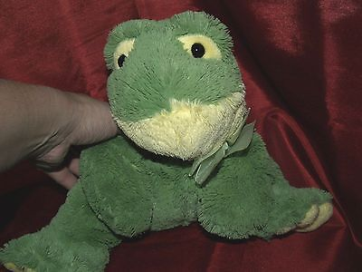 Stuffed Frog puppet, SOFT ~ Very Nice!