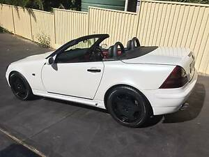 1997 Mercedes-Benz SLK R170  Convertible Mount Pritchard Fairfield Area Preview