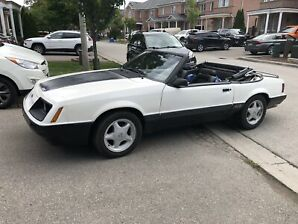 1986 Ford Mustang GT Convertible 5spd