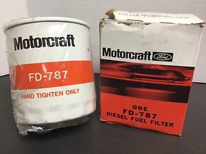 Motorcraft Ford Diesel Fuel Filter