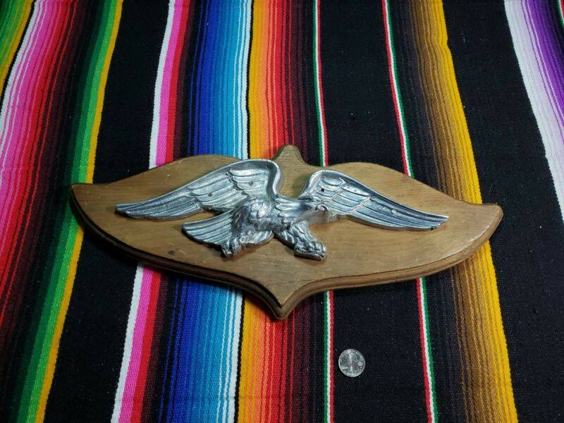 Vintage Solid Metal Eagle Wall Decor